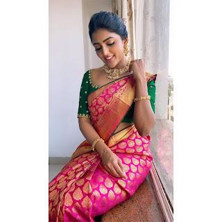 Eesha Rebba Beautiful Traditional Saree Photos