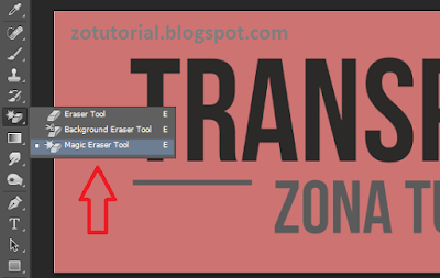 Agar Background Foto Jadi Transparan di Photoshop
