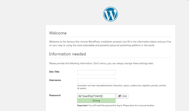 How to install WordPress manually without Softaculous