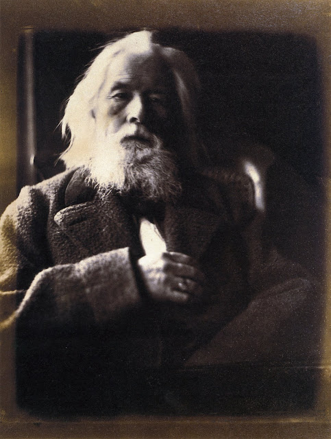 "Charles Hay Cameron, husband of Julia Margaret Cameron. 1864. Albumen print, 291 x 223mm (11 1/2 x 8 3/4""). The J. Paul Getty Museum, Los Angeles. Scanned from Colin Ford's Julia Margaret Cameron: 19th Century Photographer of Genius. In Photos: Remembering Celebrity Photographer Julia Margaret Cameron, history of photography, vintage photos, photography news, photography"