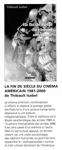 La fin de siècle du cinéma américain. Thibault Isabel. Krisis Diffusion
