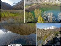 Змеиное озеро в окрестности Искандеркуля, Фанские горы, Таджикистан
