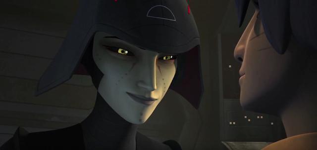 Star Wars Rebels Sezonul 2: Confruntare între inchizitoarea Seventh Sister şi Ezra