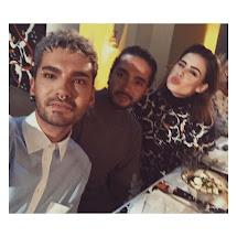 Bill Kaulitz Instagram 1162 18.01.2017 - With Lena