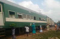 NIGERIAN TRAIN SPOILS