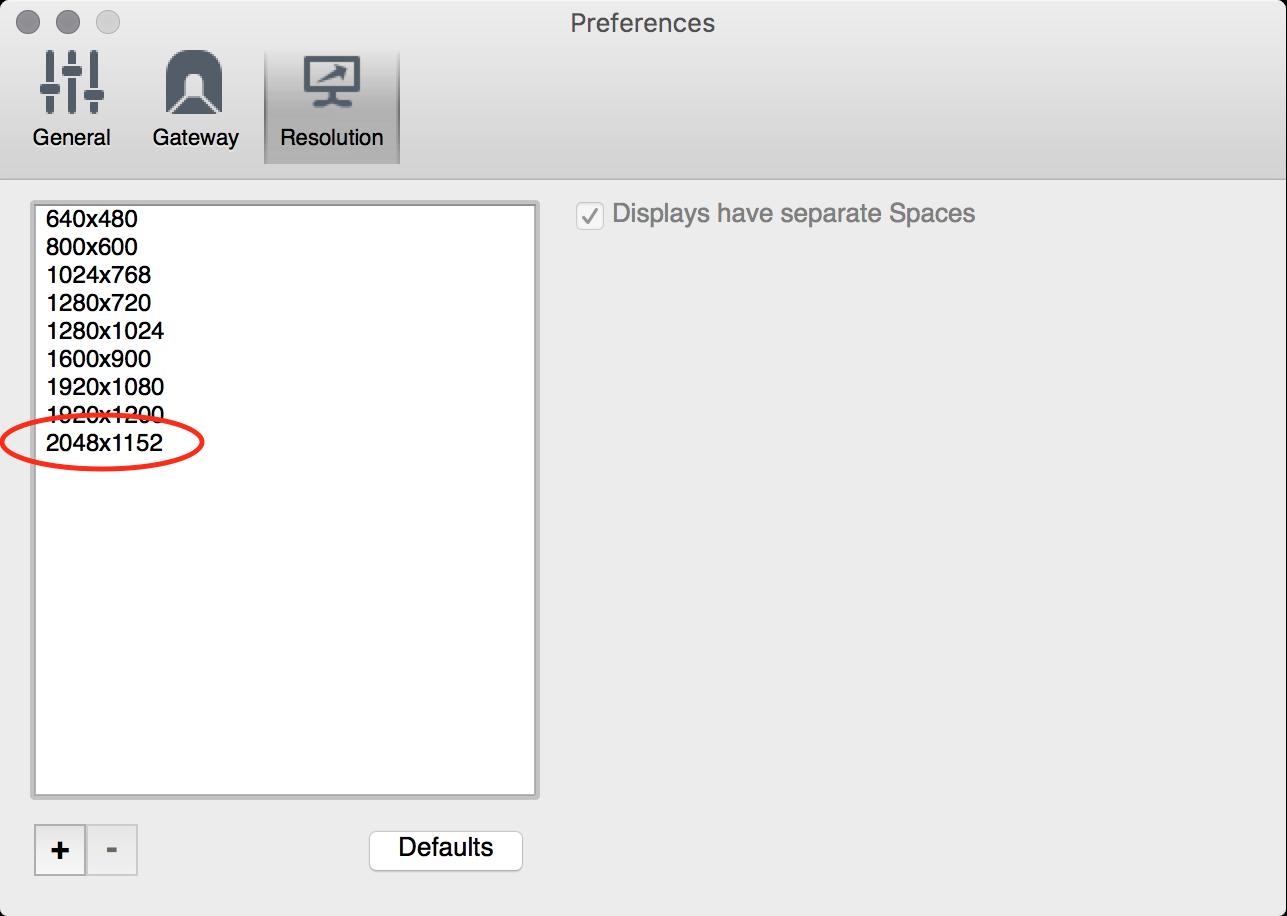 The Software Life: Mac Remote Desktop Resolution
