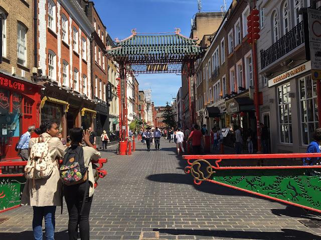 A gate at China Town