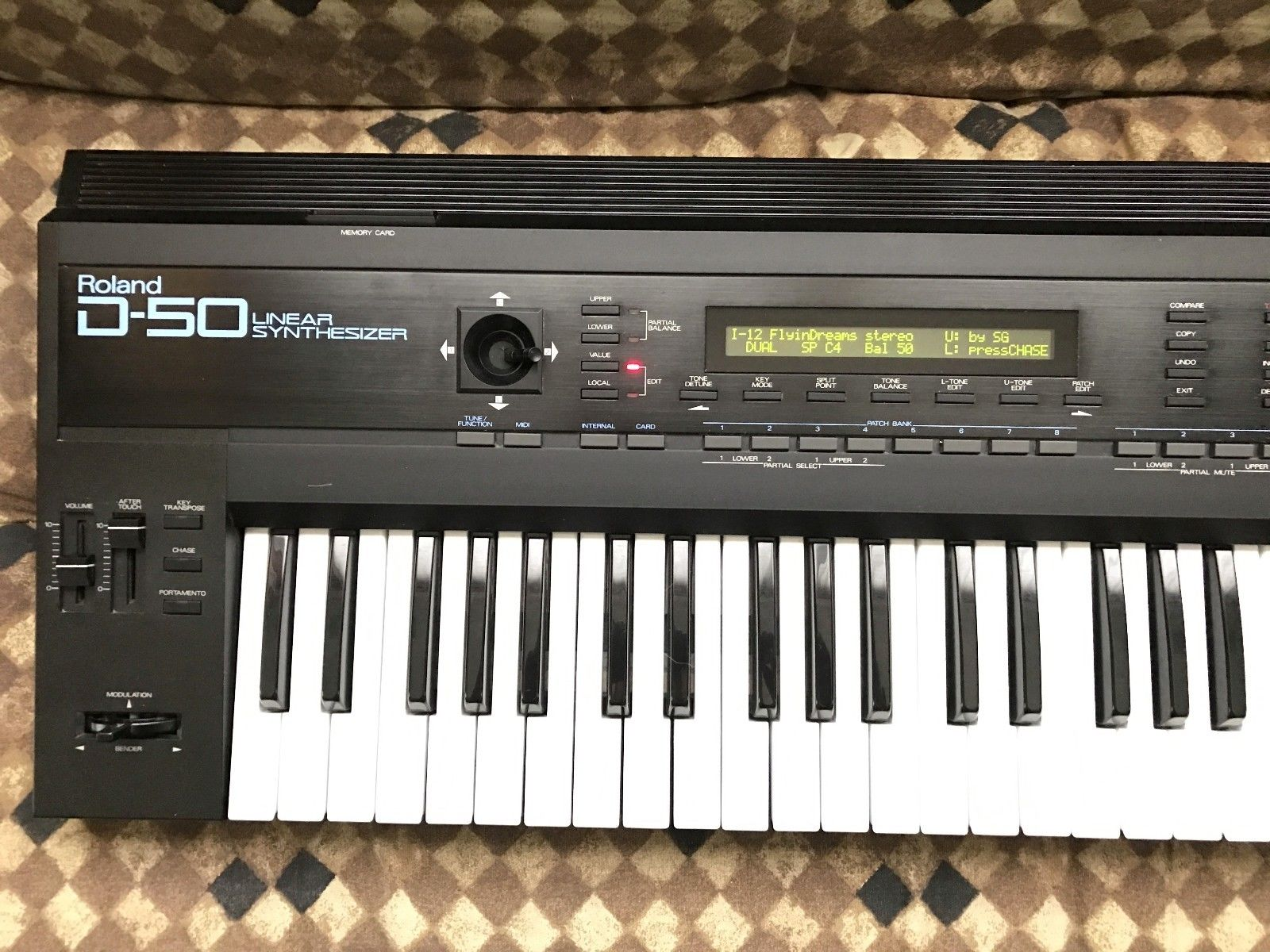 MATRIXSYNTH: Roland D50 Synthesizer