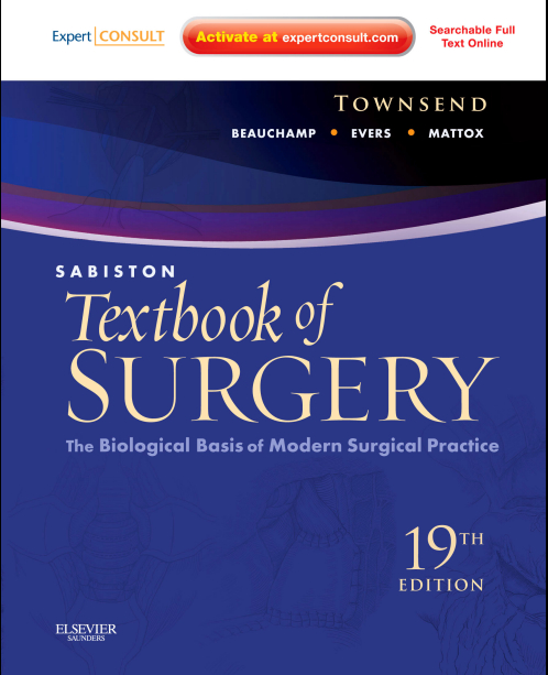 Sabiston Textbook of Surgery - The Biological Basis of Modern Surgical Practice, 19E (2012)