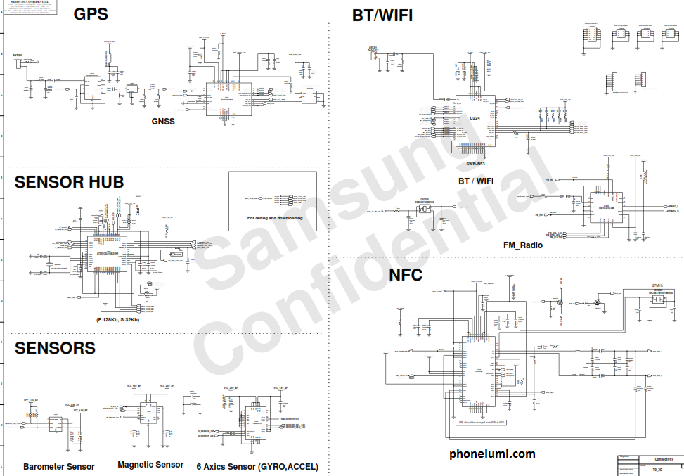 Samsung Galaxy Note 2 N7100 schematics