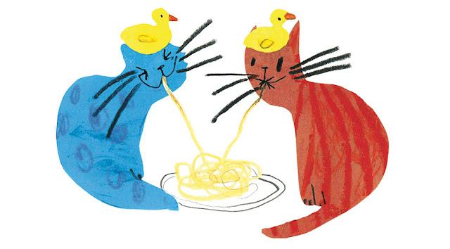 álbum ilustrado de gatos
