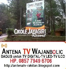 Jual ANTENA TV WAJANBOLIC  LEMBANG BANDUNG