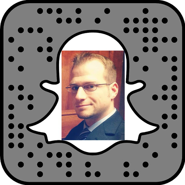 snapchat social selling specialist snapcode