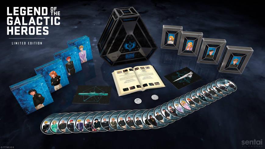 Edycja kolekcjonerska Legend of the Galactic Heroes