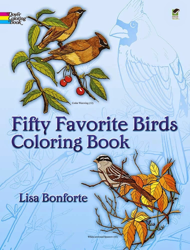 Dover Coloring Book for Bird Theme Homeschool Preschool Unit