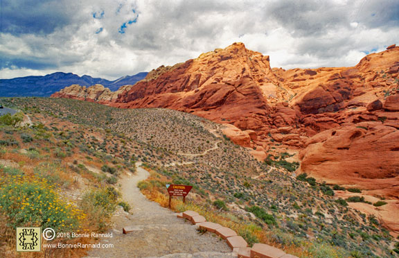 Calico Trail, Red Rock Canyon National Conservation Area