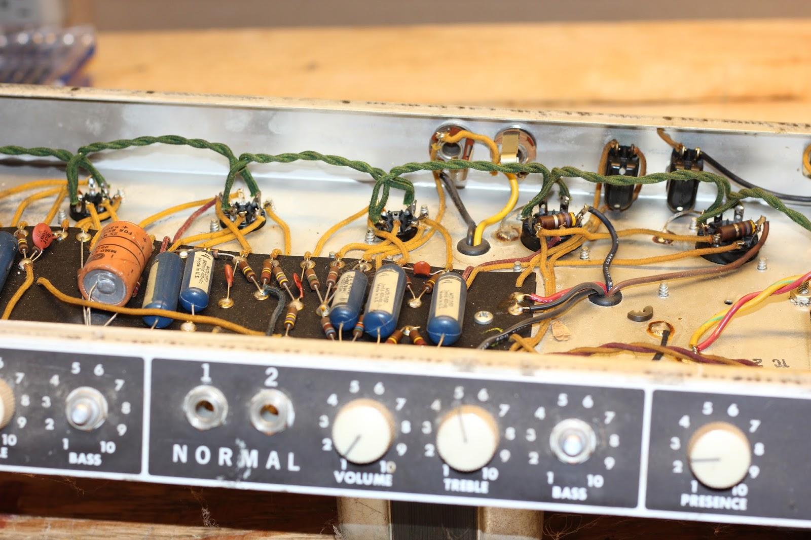 63 Fender Bassman Repair and Refurb - 09/21/16 | Dave