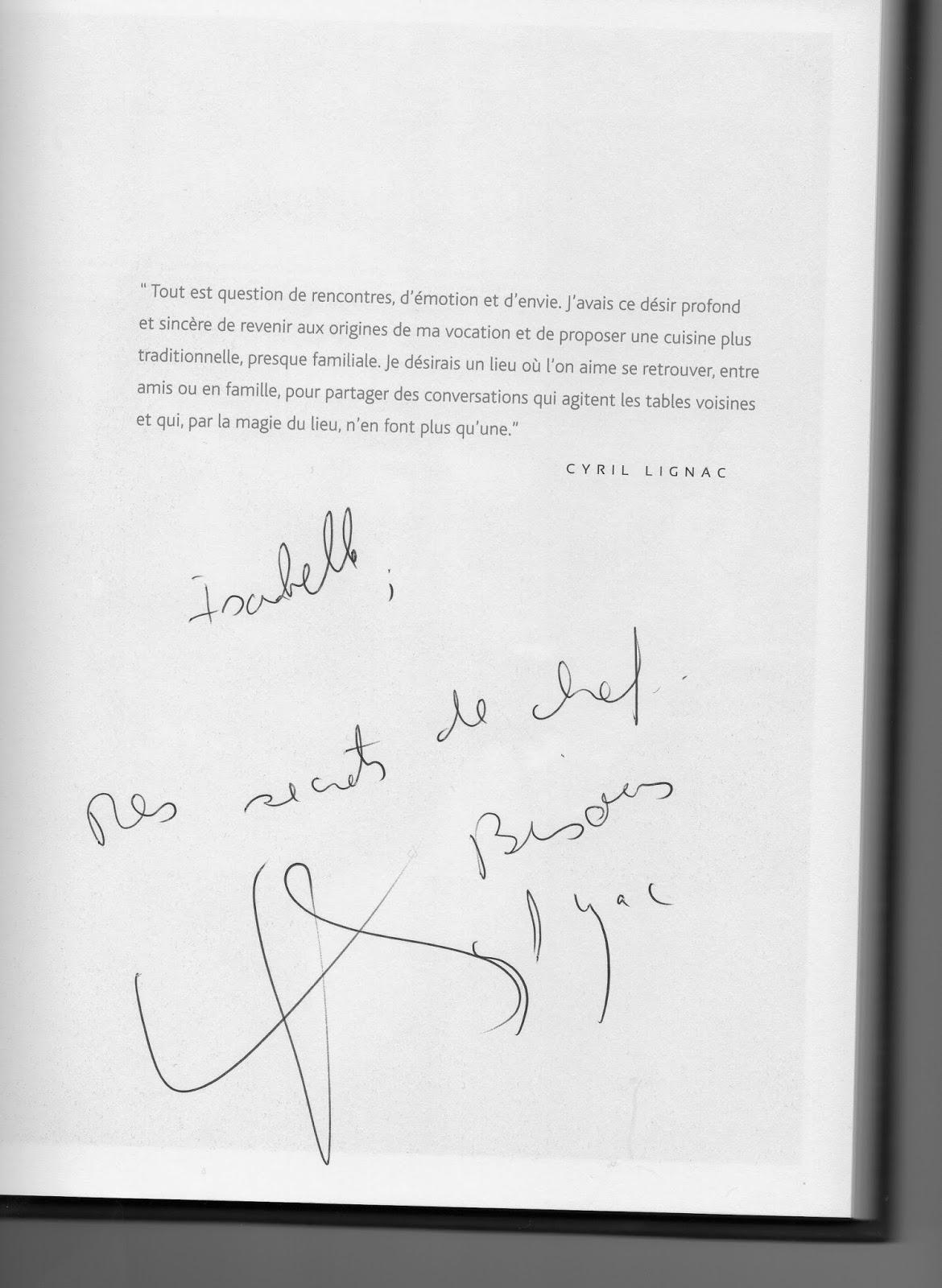 La cuisine j adore rencontre avec 2 grands noms de la - Cyril lignac livre de cuisine ...