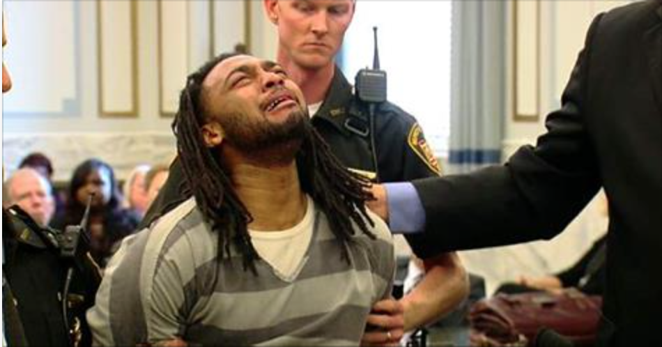 Murderer Collapses and Cries After Judge Rejects His Attempt To Change Guilty Plea