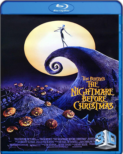 The Nightmare Before Christmas [1993] [BD50] [3D] [Español]