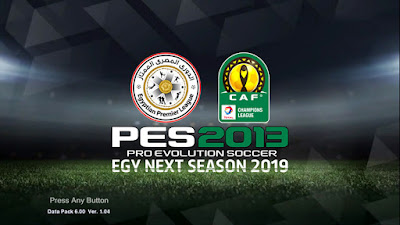 PES 2013 Egy Next Season Patch 2019 Season 2018/2019