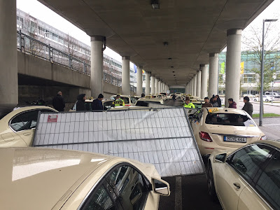 Bauzaun Taxi München Flughafen Sturmschaden Herwart