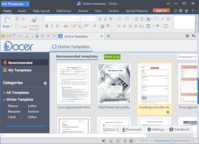 WPS Office 2016 Premium 10.2.0.7478 Full Tek Link indir