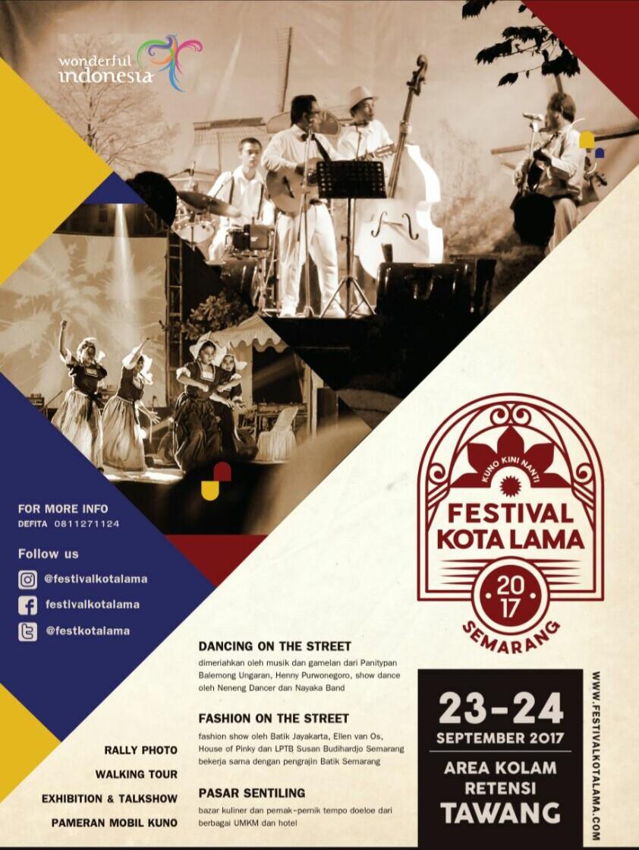 Event Festival Kota Lama 2017