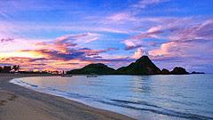 Visitindonesia; Kuta Beach, The Nearly Beautiful Tourist Goal Inward Lombok