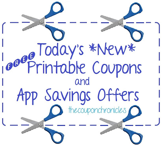 Today's Free Printable Coupons 3-31-16