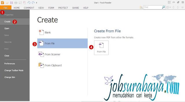contoh dan cara membuat surat lamaran kerja lewat email