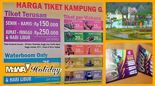 Tiket Trans Studio dan Kampung Gajah Bandung Murah