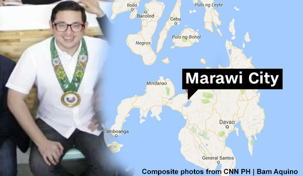 Bam Aquino visited Marawi before the Maute group attack in the city?