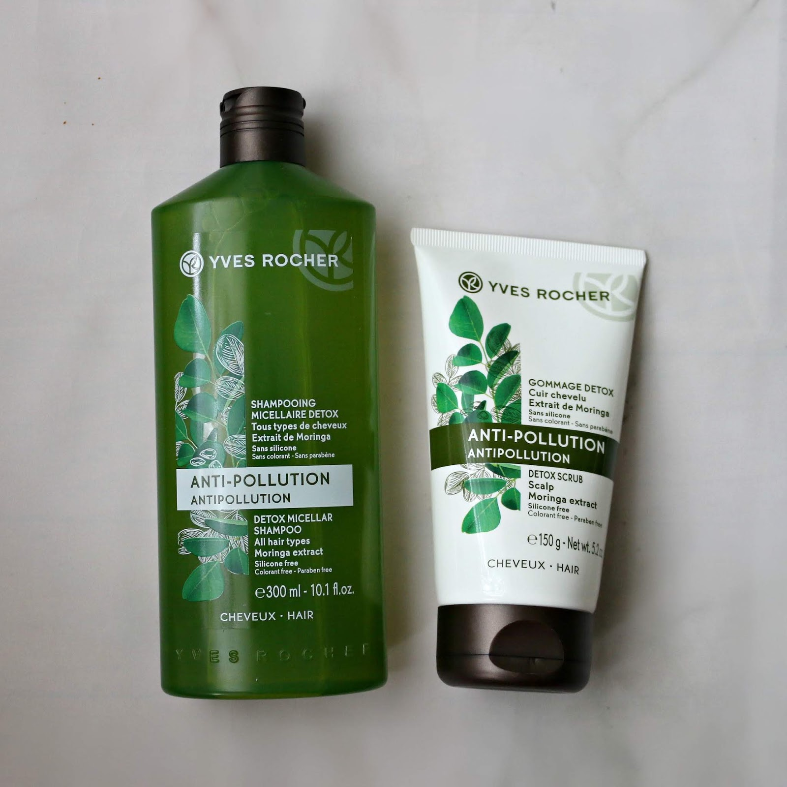 Yves Rocher Antipollution Detox Micellar Shampoo Scrub