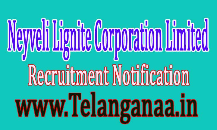 Neyveli Lignite Corporation Limited NLC Recruitment Notification 2016
