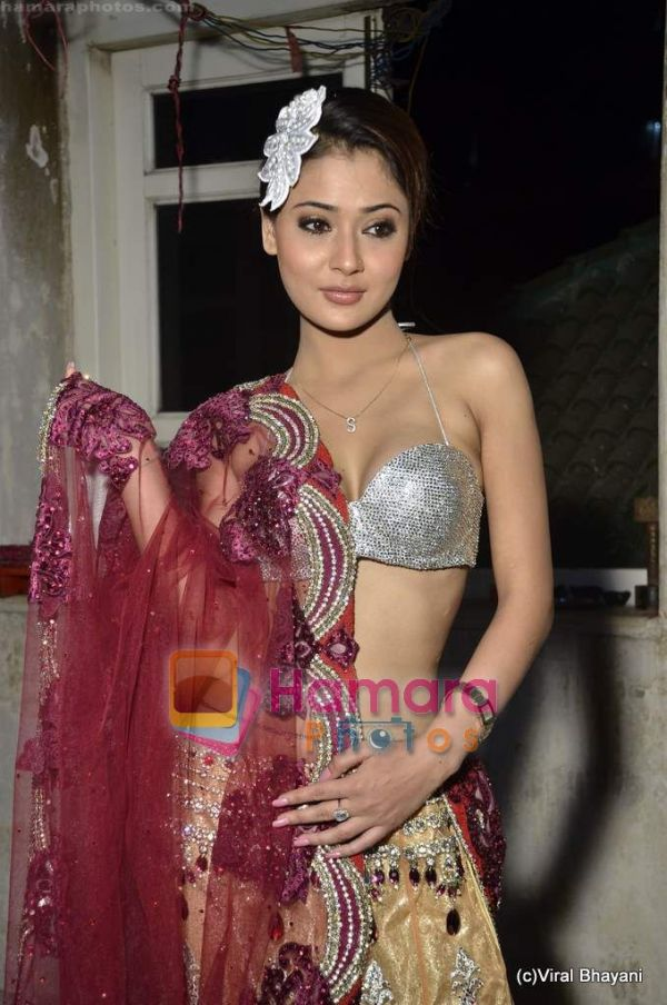 Sara Khan – Bikini Top Photo Shoot