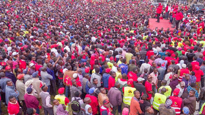Jubilee in Machakos. PHOTO | Courtesy