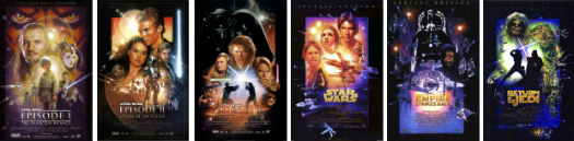 Star Wars movie marathon event to show all seven movies.