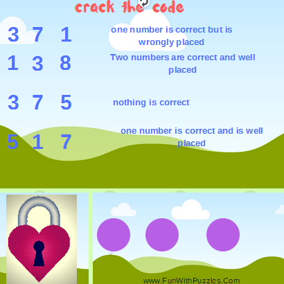 Mastermind Code Breaking Brain Teaser