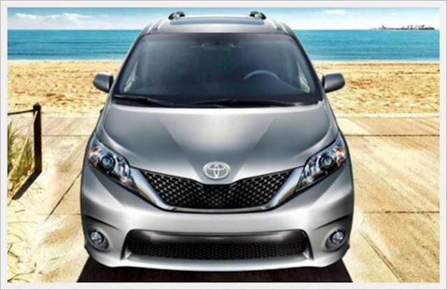 2017 Toyota Sienna Interior New