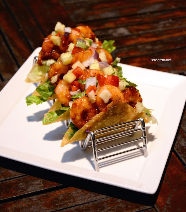 New Culinary Creations With Tony Roma's 'Farmer's Market' Promotion - BBQ Shrimp Tacos (RM25.90)
