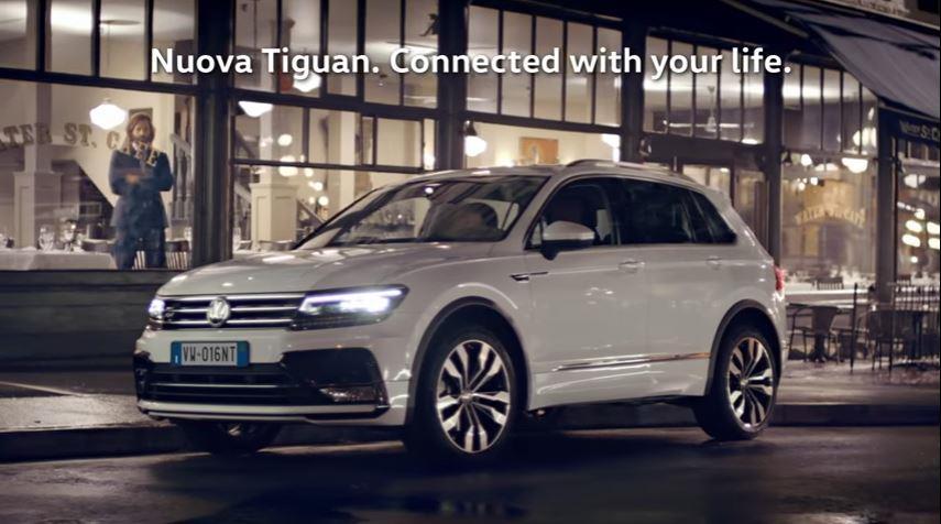 Canzone Volkswagen pubblicità Nuova Tiguan 1.6 2017 - Musica spot Gennaio 2017