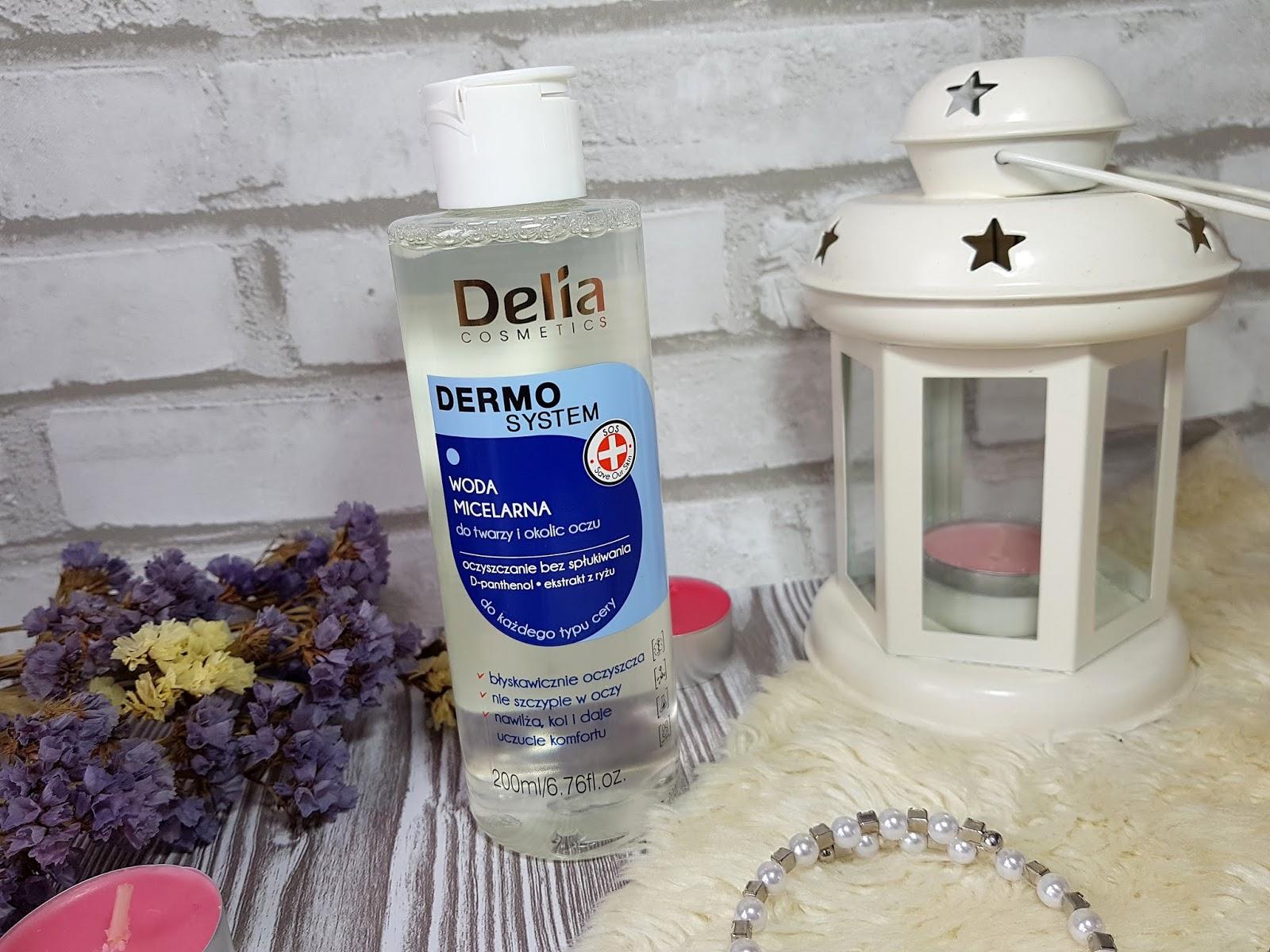 Woda micelarna Delia Dermo system