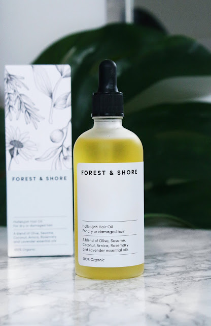 Forest and Shore hair oil