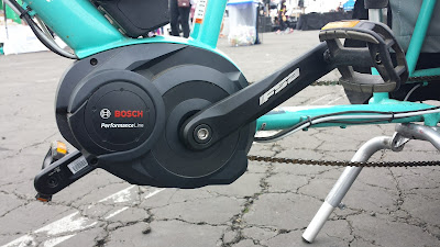 Bosch mid-drive motor on Xtracycle Edgerunner