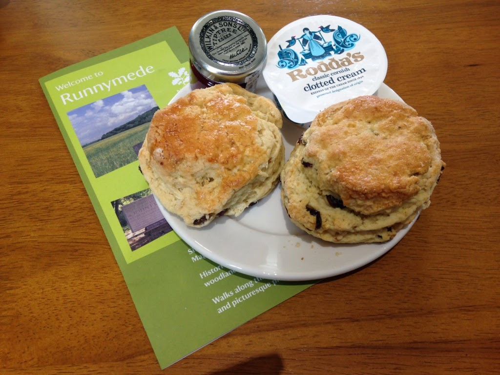 Runnymede scones