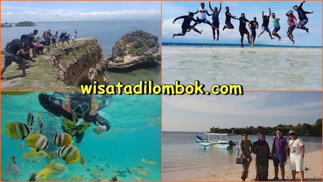Wisata Pink Beach Lombok