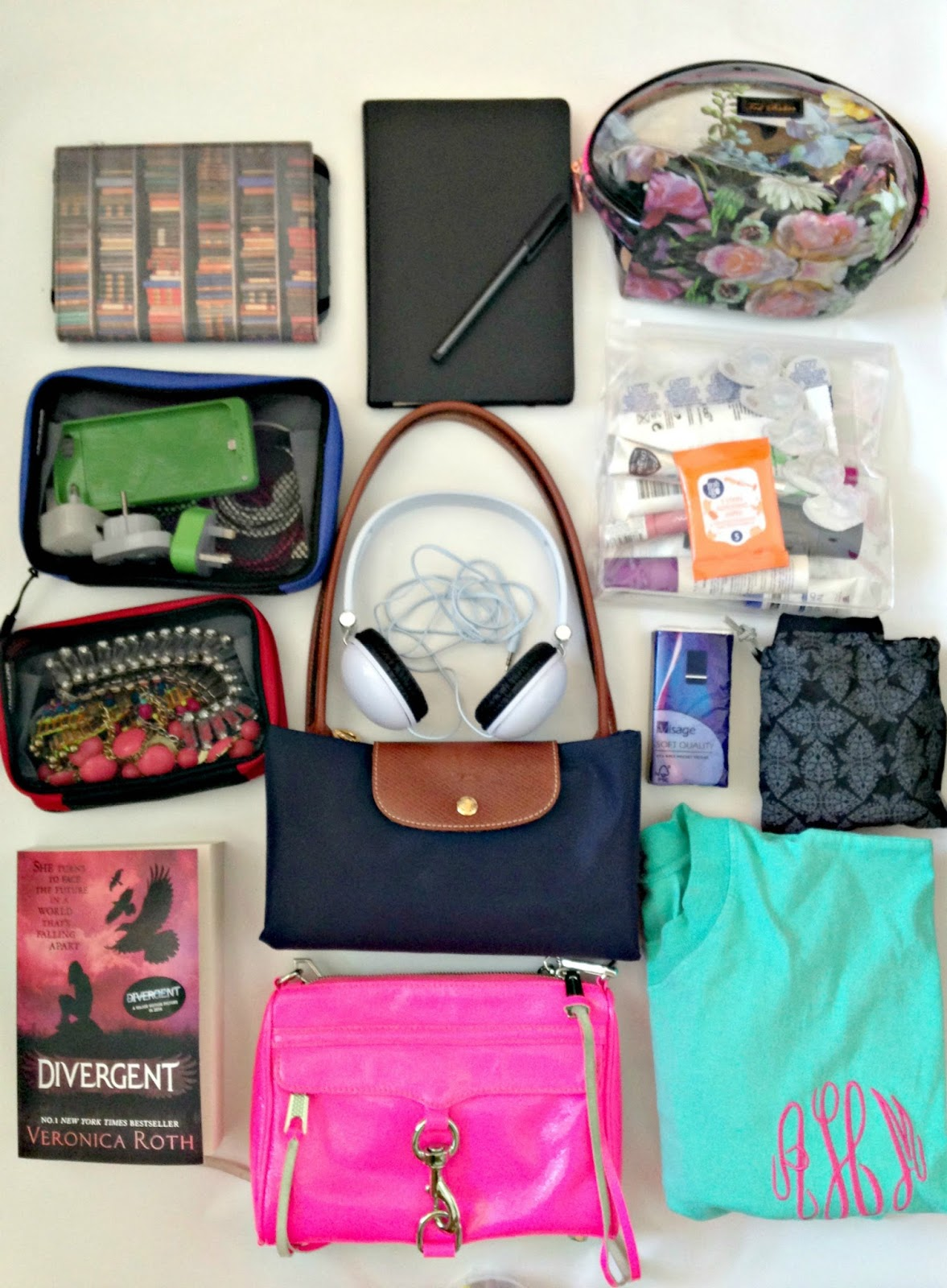 what's in my carry on bag