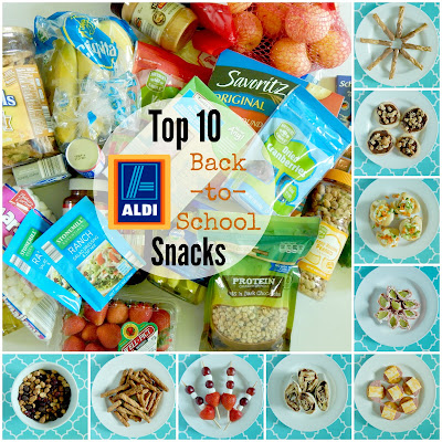 TOP 10 BACK TO SCHOOL SNACKS FROM ALDI