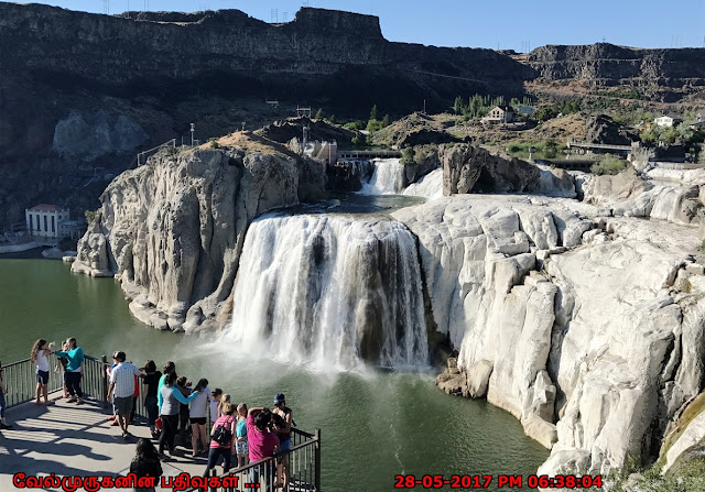 Idaho Waterfalls - Shoshone Falls